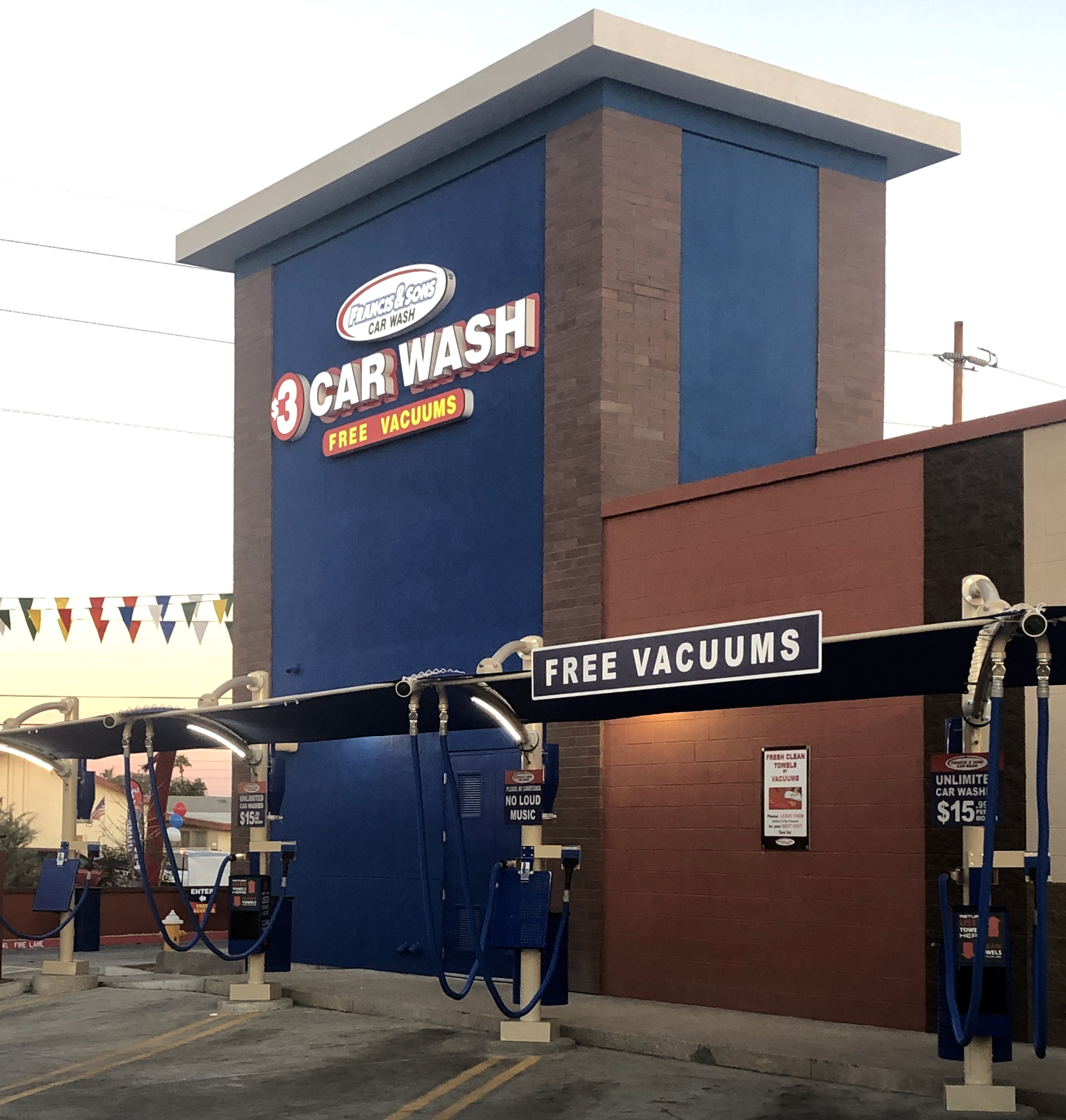 Francis and Sons $3 Car Wash Newest Phoenix Location Coming